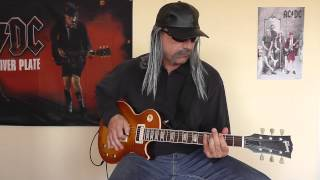 AC/DC - Rising Power cover by RhythmGuitarX