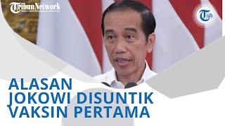 Wiki Trends - Bukan Ingin Mendahulukan Diri Sendiri, Begini Alasan Jokowi Jadi yang Pertama Divaksin