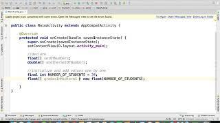 Java - Declare and Initialize Decimal Number Arrays  | Arrays in Java