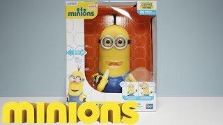 """MINION KEVIN - 10"""" BANANA EATING ACTION FIGURE POSABLE - New 2015 Minions Movie Esclusive Toys"""