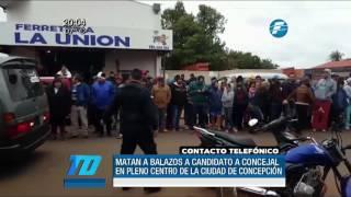 Sicarios matan a precandidato a concejal en Concepción