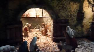 preview picture of video 'Arte e modellismo : Convento di San Francesco a Palestrina - Presepe'