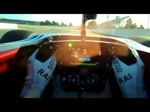 Raikkonen Visor Camera | Barcelona-Catalunya Circuit