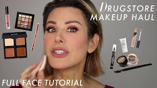 Full Face Drugstore Makeup Tutorial: Do We Like It?! | Dominique Sachse