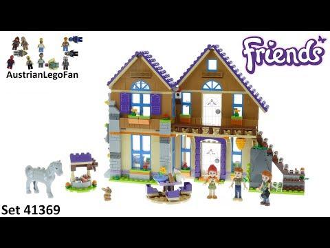 Vidéo LEGO Friends 41369 : La maison de Mia