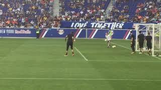 Barcelona vs Juventus pregame training