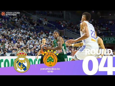 RS Round 4 Highlights: Madrid 88-65 Panathinaikos