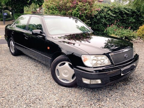 STUNNING Lexus LS400: Full Interior Tour, All Controls Shown & Engine Start Up