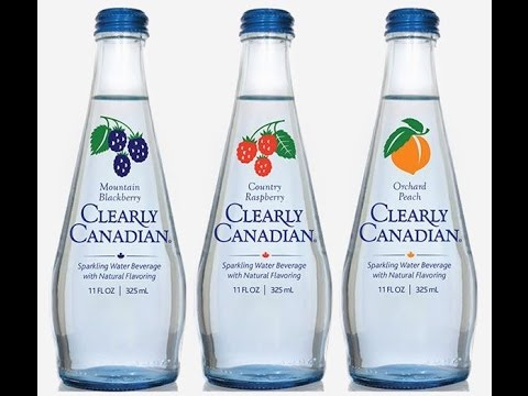 Clearly Canadian Sparkling Water ❤️ Come Back!