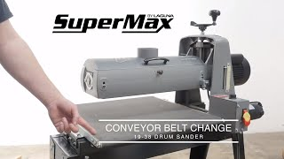 How To Change the 19|38 Conveyor Belt
