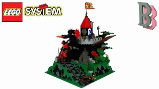 LEGO Castle Dragon Masters Knights 6082 Fire Breathing Fortress - Review 1993