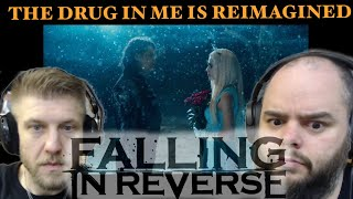 Beautiful song ! | FALLING IN REVERSE - THE DRUG IN ME IS REIMAGINED | metalheads reaction