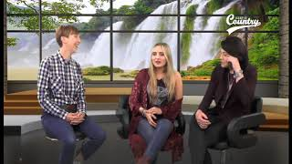 Interview with Sonia Leigh and Katy Hurt at the Keep It Country TV Studios