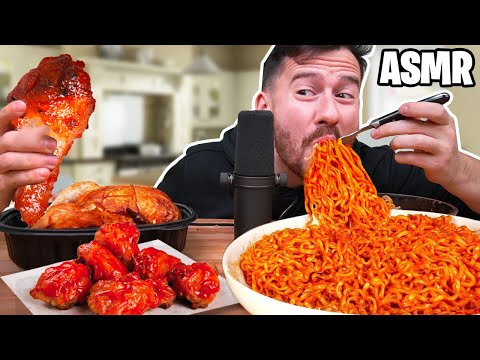 I Only Ate In ASMR For 24 Hours!! *IMPOSSIBLE FOOD CHALLENGE*