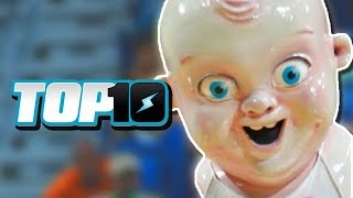 Top 10 Terrifying Mascots