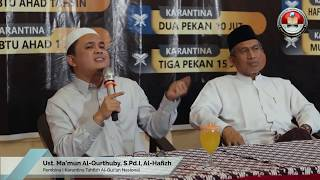 Klip Dokumentasi Karantina Tahfizh Al-Quran Nasional Angkatan 46