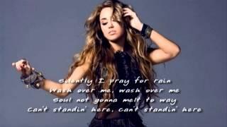 Miley Cyrus  Burned Up The Night - Lyrics - DEMO) - New Song 2011