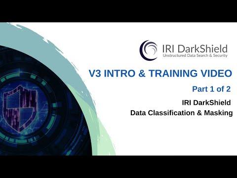 IRI DarkShield zur PII-Suche und Schutz in unstrukturierten Dark Data Quellen
