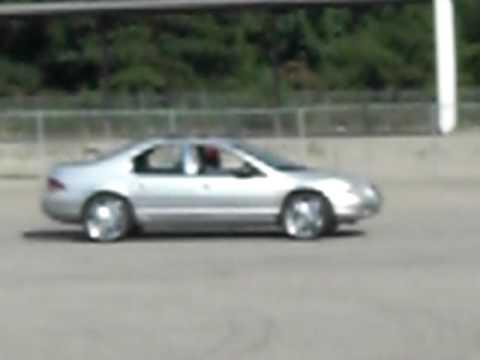 Chrysler cirrus on big Rims