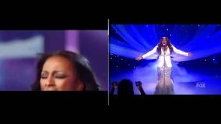 "Alexandra burke & Melanie Amaro a duet ""Listen"""