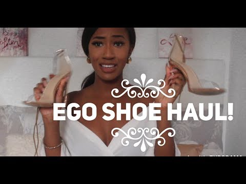EGO OFFICIAL FAVOURITES SHOE HAUL – Heels & Sliders!