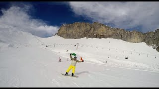 Snowboarding in the Swiss Alps | Proud to be Irish on St. Patrick's Day