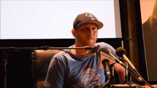 """Cole Swindell Part III """"You Should Be Here"""" Nashville Media Day"""