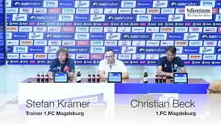 FCM vor Mannheim-Spiel