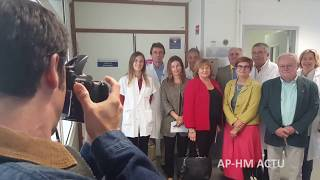 Inauguration Des Urgences Gynéco De L'Hôpital Nord