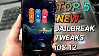 Top 5 NEW Cydia Tweaks For unc0ver/Chimera Jailbreak iOS 12