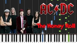 AC/DC - The Honey Roll Synthesia Tutorial
