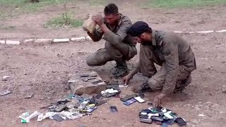 ARMY TRAINEE MOBILES WERE SMASHED FOR VIOLATING RULES