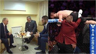 Dư âm siêu kinh điển: Tổng thống Putin bênh vực Khabib tẩn McGregor tơi bời