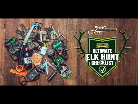 Ultimate Elk Gun Hunt Checklist video thumbnail