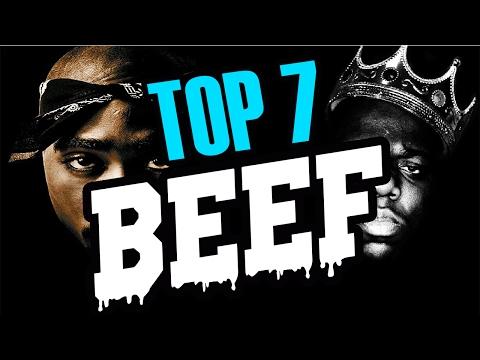 TOP 7 BEEF...MOVIDAS ENTRE RAPEROS | sitofonkTV