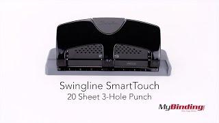 Swingline SmartTouch 20 Sheet 3-Hole Punch - 74133