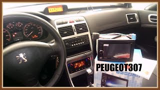 Unboxing Android 8 1 Radio for Peugeot 307 - GPS Navigation