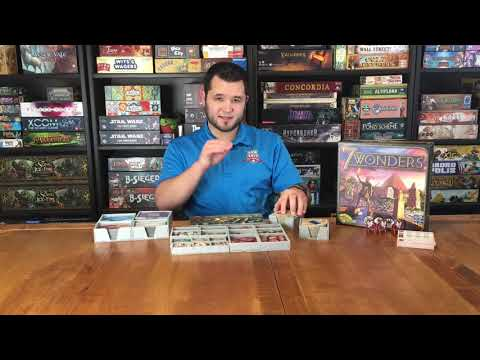 7 Wonders- Folded Space Insert Review