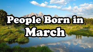 March   Birth Month Say About Your Personality   Happy Birthday   Whatsapp Status