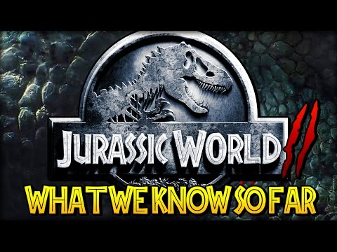 Jurassic World 2 : Everything We Know So Far (CONFIRMED DINOSAURS, PLOT LINES, THEMES)