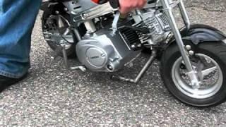Minimoto Loncin 110cc
