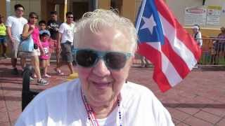 preview picture of video 'Arriving in the port of Old San Juan Puerto Rico'