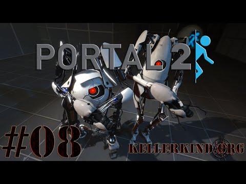 Portal 2 Co-Op [HD] #008 – Der Anfang vom Ende ★ Let's Play Portal 2
