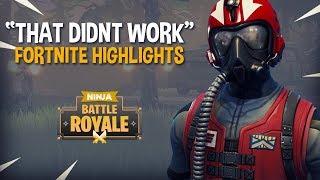 """That Didnt Go As Planned"" - Fortnite Battle Royale Highlights - Ninja"