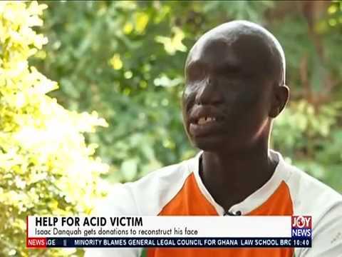 Help for Acid Victim - News Desk on JoyNews (26-3-19)
