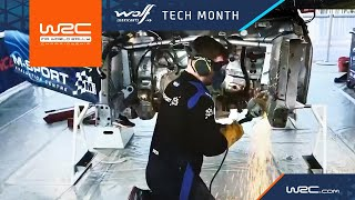WRC Tech Month 2020: M-Sport remote car rebuild