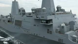 Huntington Ingalls Industries successfully completes builder's trials for Amphibious Transport Dock