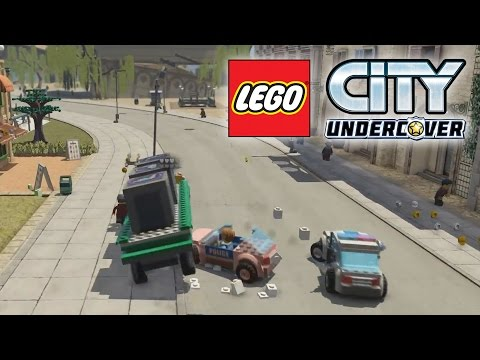 Lego City Undercover Lego Police Chase Police Car Gameplay
