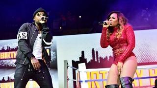 RB singer Ashanti  singer Lloyd