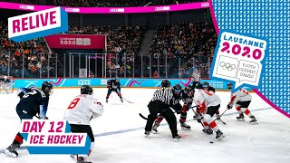 RELIVE - Ice Hockey - USA Vs CANADA - Mens Semifinal - Day 12 | Lausanne 2020